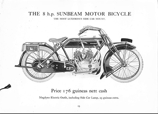 8HP JAP V Twin