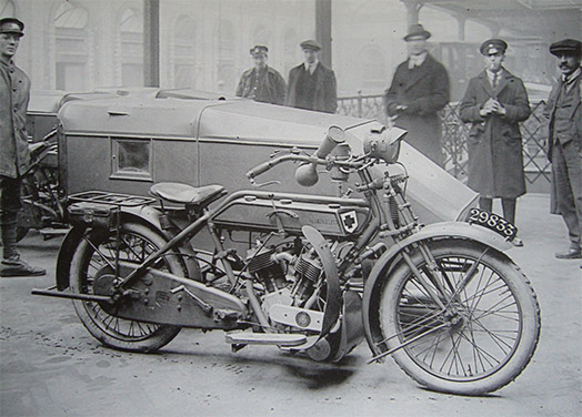 8 HP Vtwin Military
