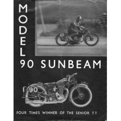 1932 Sunbeam Catalogue -...