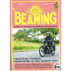 Beaming Magazine Issue 22 Summer 2015