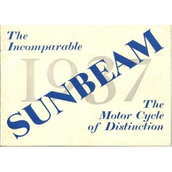1937 Sunbeam Catalogue