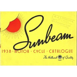 1938 Sunbeam Catalogue