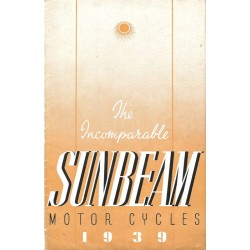 1939 Sunbeam Catalogue...