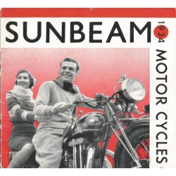 1934 Sunbeam Catalogue