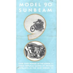 1933 Sunbeam Catalogue -...