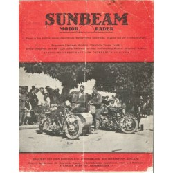 1925 Sunbeam Catalogue in...
