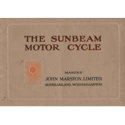 1916 Sunbeam Catalogue