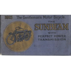 1913 Sunbeam Catalogue