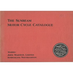 1914 Sunbeam Catalogue