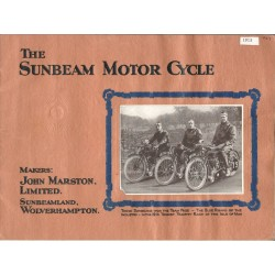 1915 Sunbeam Catalogue