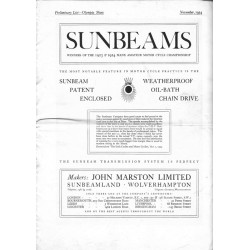 1924 Sunbeam Prelim list...