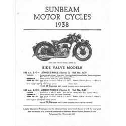 1938 Catalogue - abridged