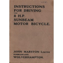 1918 Sunbeam 8 HP Driving...