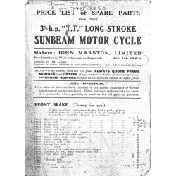 1924 Sunbeam 31/2HP TT...