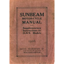 1926 Sunbeam Supp...