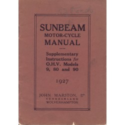 1927 Sunbeam Supp...