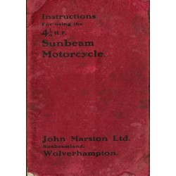 1922 Sunbeam 41/4HP...