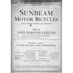 1920 Sunbeam Catalogue