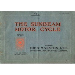 1921 Sunbeam Catalogue