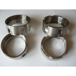 EXHAUST NUT ohv, stainless steel SS