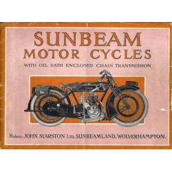 1924 Sunbeam Catalogue