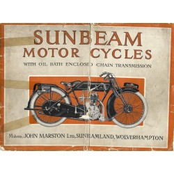 1925 Sunbeam Catalogue