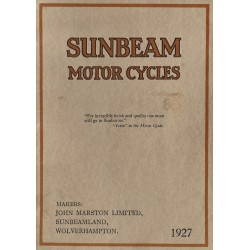 1927 Sunbeam Catalogue