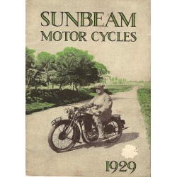 1929 Sunbeam Catalogue